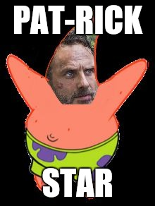 PAT-RICK STAR | image tagged in pat rick | made w/ Imgflip meme maker
