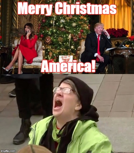 Merry Christmas America! | made w/ Imgflip meme maker