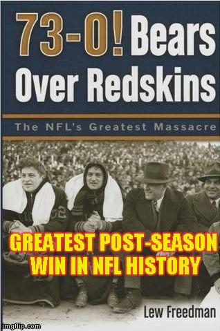GREATEST POST-SEASON WIN IN NFL HISTORY | made w/ Imgflip meme maker