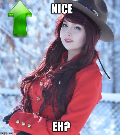 NICE EH? | made w/ Imgflip meme maker