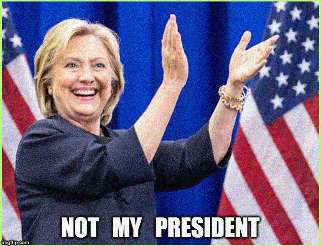 Still makes me smile to say- NOT MY President | image tagged in hillary clinton for jail 2016,current events,politics lol,political meme,hillary emails,donald trump approves | made w/ Imgflip meme maker