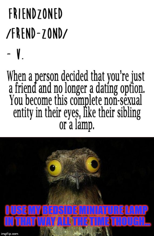 Kinky I know | I USE MY BEDSIDE MINIATURE LAMP IN THAT WAY ALL THE TIME THOUGH... | image tagged in nsfw,weird stuff i do potoo,i love lamp | made w/ Imgflip meme maker