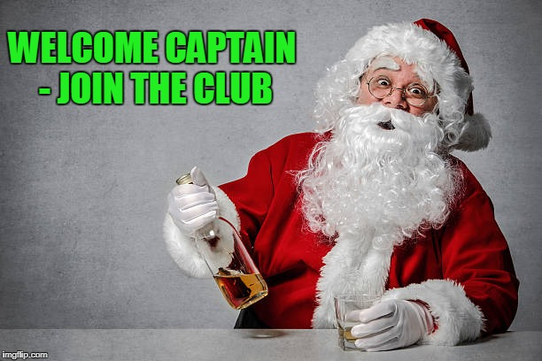 WELCOME CAPTAIN - JOIN THE CLUB | made w/ Imgflip meme maker