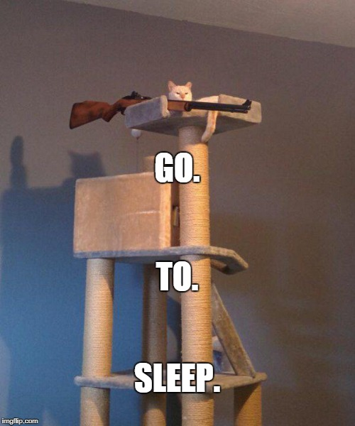 GO. SLEEP. TO. | made w/ Imgflip meme maker