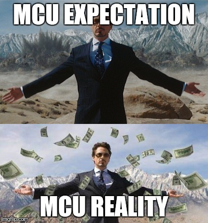 MCU EXPECTATION MCU REALITY | image tagged in iron man,mcu | made w/ Imgflip meme maker