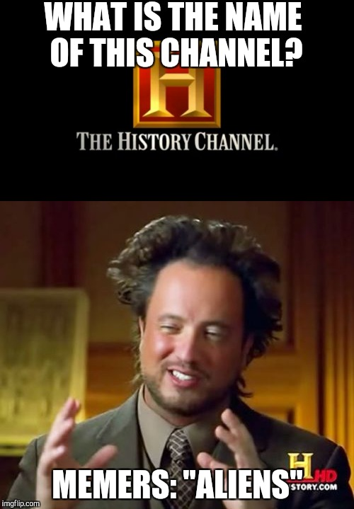 "What memers think | WHAT IS THE NAME OF THIS CHANNEL? MEMERS: ""ALIENS"" 