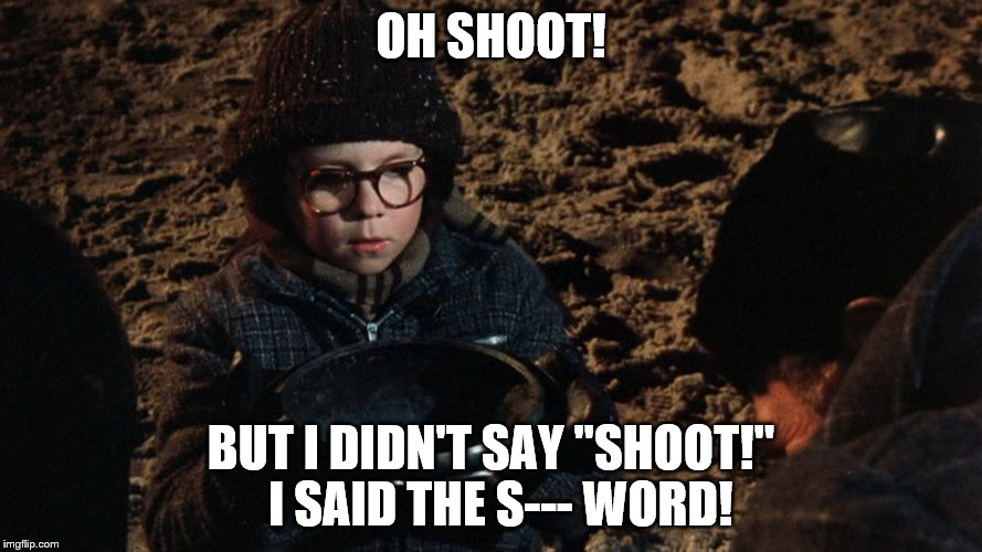 "But I didn't say ""SHOOT!"" 