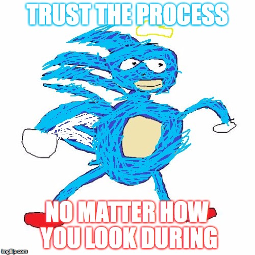 b ENCOURAGED. | TRUST THE PROCESS NO MATTER HOW YOU LOOK DURING | image tagged in yahuah yahusha,memes,praise yah,submit to the king,admit that there is a dragon within | made w/ Imgflip meme maker
