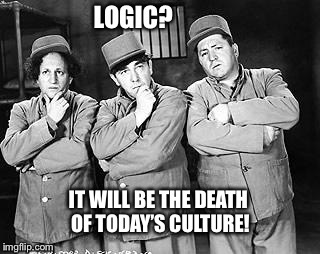 Are they getting smarter or are we getting dumber? | . | image tagged in memes,funny memes,3 stooges,logic,culture,emotions | made w/ Imgflip meme maker