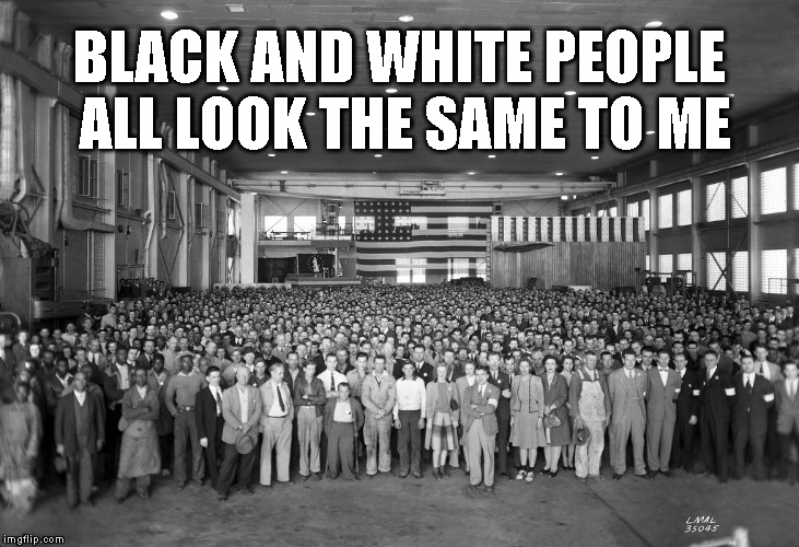 Citizens of the World  | BLACK AND WHITE PEOPLE ALL LOOK THE SAME TO ME | image tagged in human beings | made w/ Imgflip meme maker