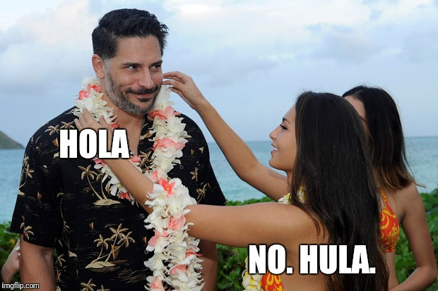 HOLA NO. HULA. | made w/ Imgflip meme maker