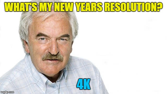 WHAT'S MY NEW YEARS RESOLUTION? 4K | made w/ Imgflip meme maker