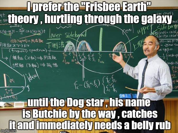 """Because the world is round it turns me on"" - The Beatles 