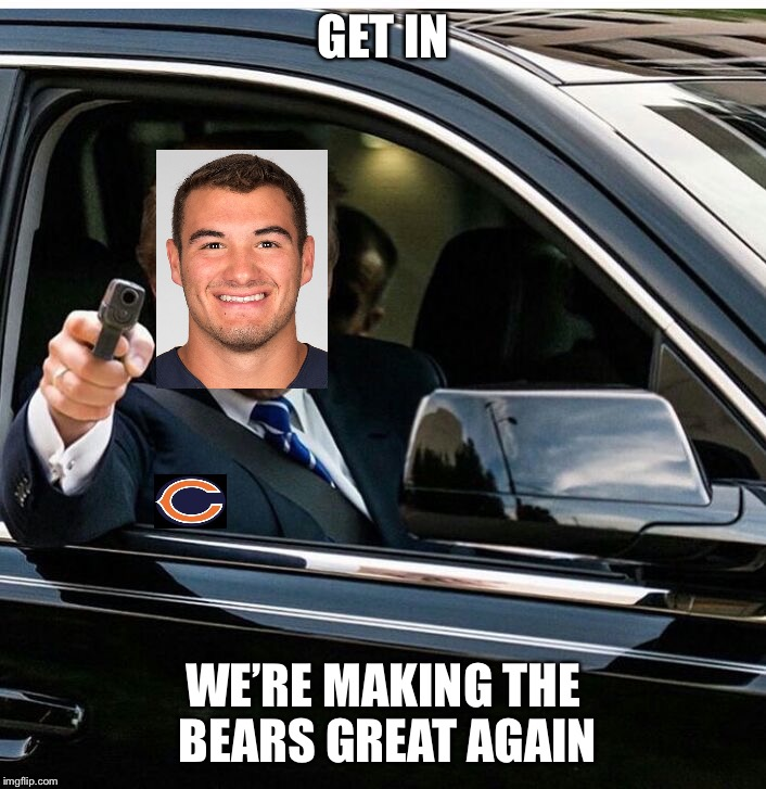 Trump get your money ready | GET IN WE'RE MAKING THE BEARS GREAT AGAIN | image tagged in trump get your money ready,nfl,nfl memes | made w/ Imgflip meme maker