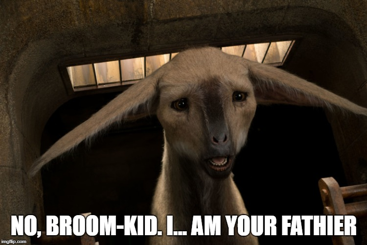 I am your fathier | NO, BROOM-KID. I... AM YOUR FATHIER | image tagged in star wars,the last jedi,broom-kid,fathier | made w/ Imgflip meme maker