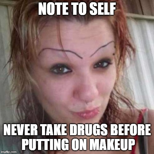 "Yikes! I Feel Like Starting Up A ""Save The Eyebrows"" Fundraising Campaign 