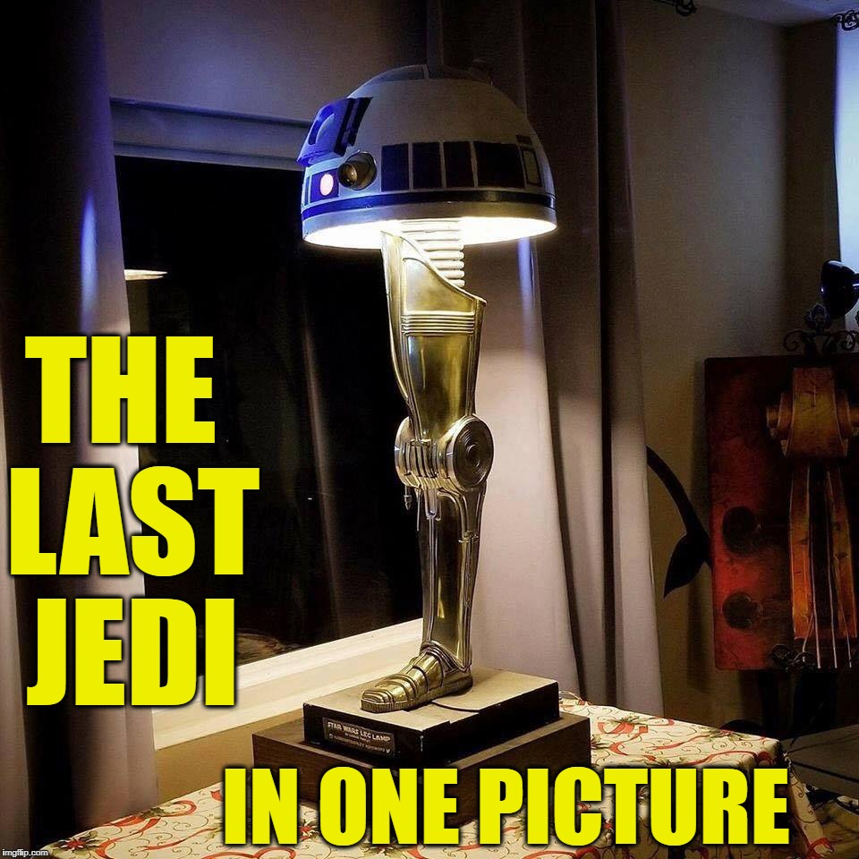 Star Wars: The Oscar | IN ONE PICTURE THE LAST JEDI | image tagged in star wars a major award,the last jedi,star wars,disney killed star wars,memes | made w/ Imgflip meme maker