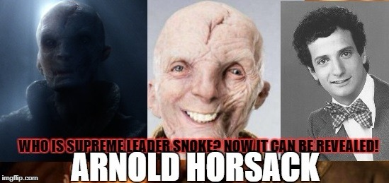 SPOILER | image tagged in snoke snark,last jedi,mr kotter | made w/ Imgflip meme maker