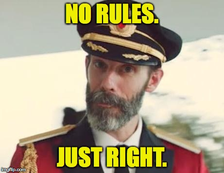NO RULES. JUST RIGHT. | made w/ Imgflip meme maker