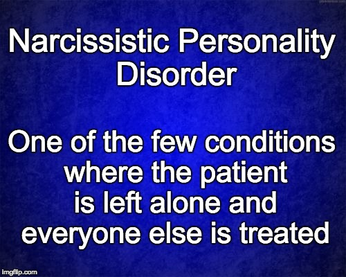 narcissistic personality disorder treatment