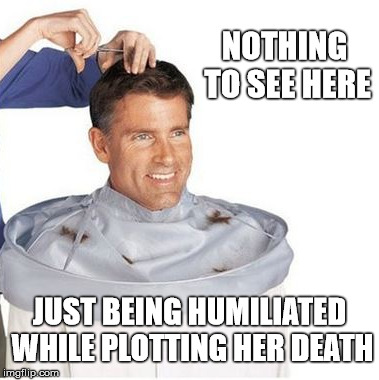 """Wear this"" she said 