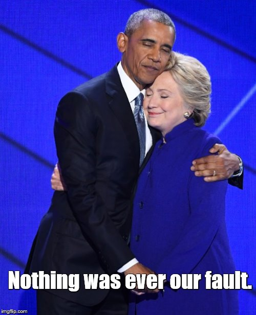 Nothing was ever our fault. | made w/ Imgflip meme maker