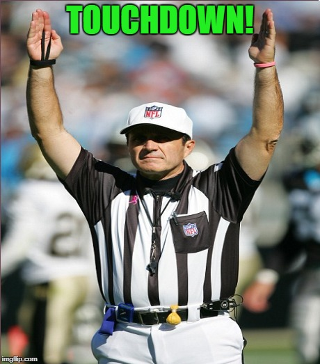 TOUCHDOWN! | made w/ Imgflip meme maker