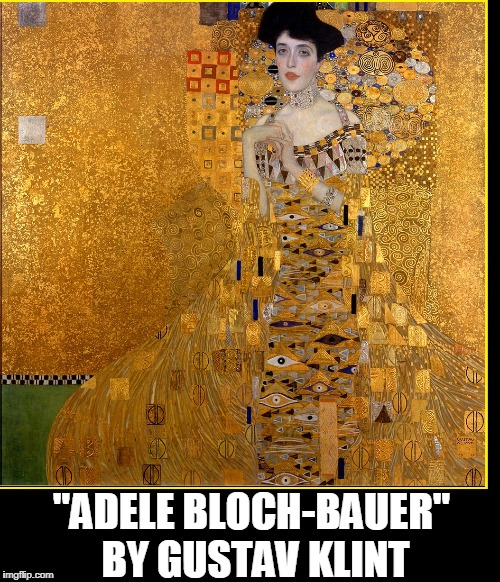 "2006 Klimt's portrait from his gilded phase sold for $135 million | ""ADELE BLOCH-BAUER"" BY GUSTAV KLINT 