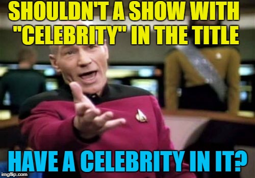 "What actually counts as a ""celebrity"" these days? :) 
