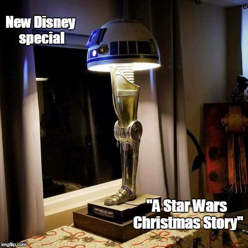 "Star Wars Christmas story | New Disney special ""A Star Wars Christmas Story"" 