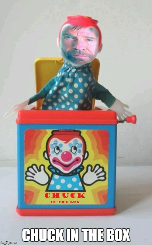 Chuck In The Box | CHUCK IN THE BOX | image tagged in chuck norris,jack in the box,memes | made w/ Imgflip meme maker