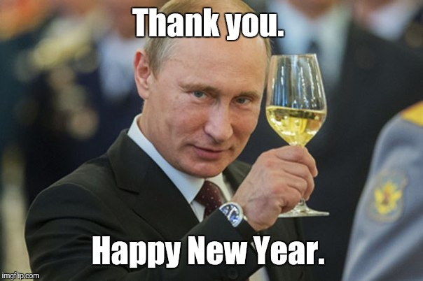 Thank you. Happy New Year. | made w/ Imgflip meme maker