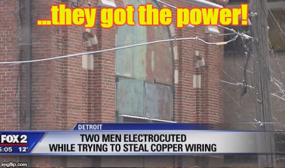 ...they got the power! | made w/ Imgflip meme maker