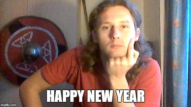 Happy New Year | HAPPY NEW YEAR | image tagged in happy,new,year,oleg | made w/ Imgflip meme maker