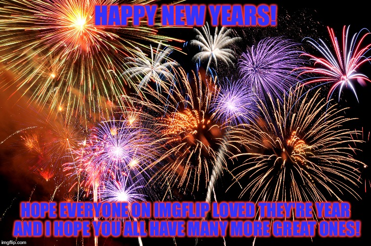 Happy New Year! | HAPPY NEW YEARS! HOPE EVERYONE ON IMGFLIP LOVED THEY'RE YEAR AND I HOPE YOU ALL HAVE MANY MORE GREAT ONES! | image tagged in celebrate,memes,meme,happy new year,happy new years | made w/ Imgflip meme maker