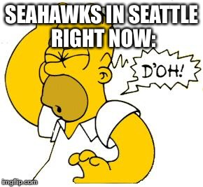 homer doh | SEAHAWKS IN SEATTLE RIGHT NOW: | image tagged in homer doh | made w/ Imgflip meme maker