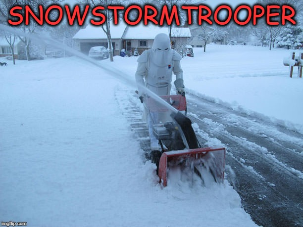 demoted to snowstorm trooper, they were the droids they were looking for. | SNOWSTORMTROOPER | image tagged in demoted,snow,stormtrooper | made w/ Imgflip meme maker