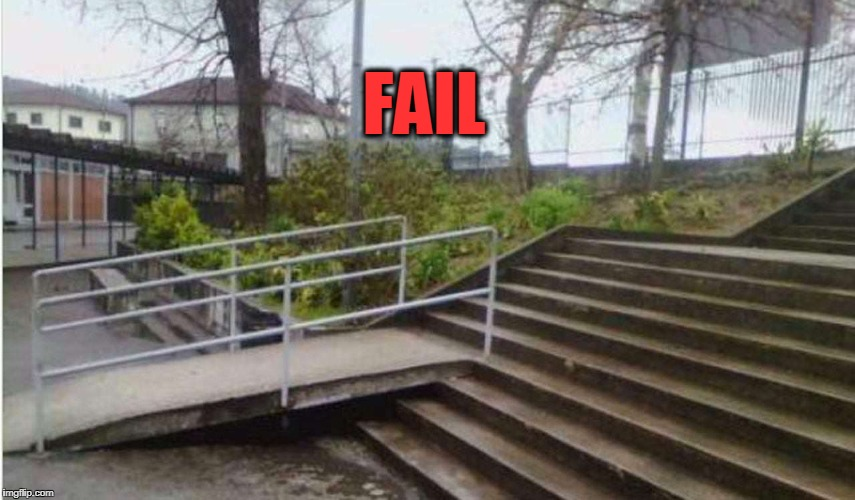 FAIL | FAIL | image tagged in fail,handicapped | made w/ Imgflip meme maker