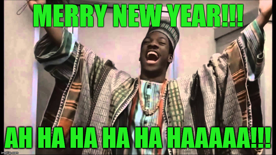 Are we shitfaced yet? | MERRY NEW YEAR!!! AH HA HA HA HA HAAAAA!!! | image tagged in merrith newith,merry xmas,2018 new year,meme | made w/ Imgflip meme maker