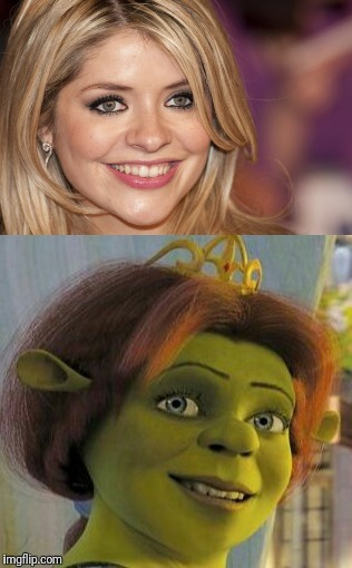 Come on! Splitting image  | image tagged in shrek,celebrity,celebrities,2018,lookalike,uk | made w/ Imgflip meme maker