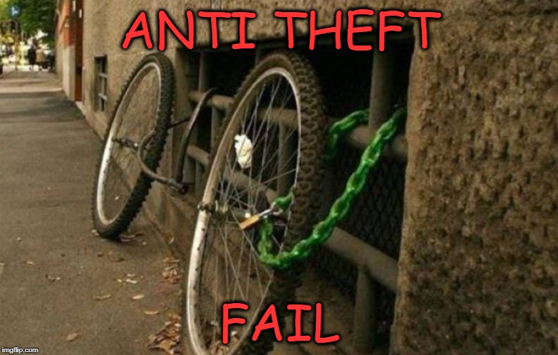 well that  sucks, must be Detroit | ANTI THEFT FAIL | image tagged in well that sucks,fail | made w/ Imgflip meme maker