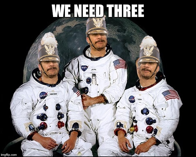 triplet nauts | WE NEED THREE | image tagged in triplet nauts | made w/ Imgflip meme maker