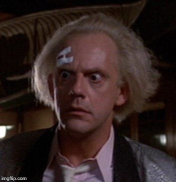 Doc Brown | . | image tagged in doc brown | made w/ Imgflip meme maker