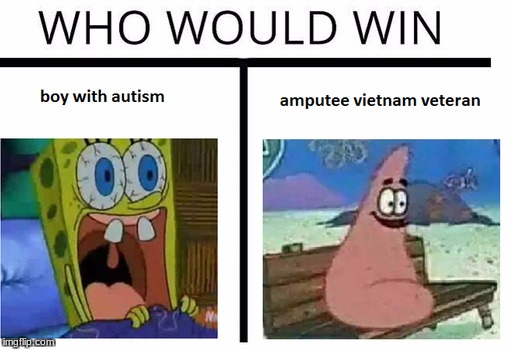 who would win  | image tagged in sponge bob,who would win,meme | made w/ Imgflip meme maker