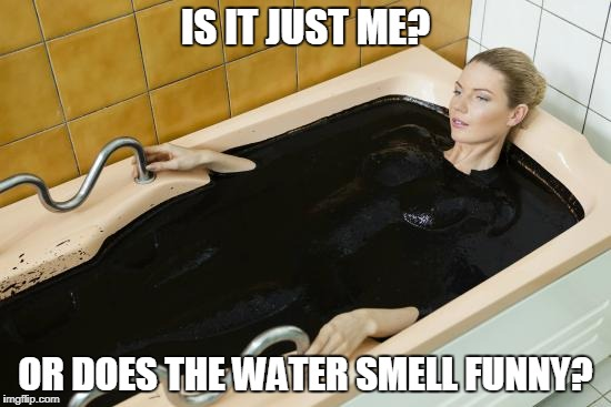 IS IT JUST ME? OR DOES THE WATER SMELL FUNNY? | made w/ Imgflip meme maker
