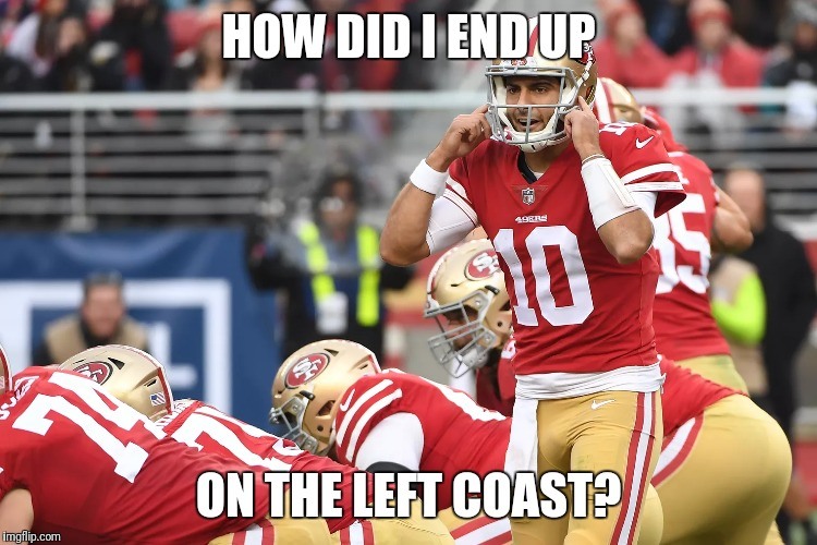 HOW DID I END UP ON THE LEFT COAST? | made w/ Imgflip meme maker