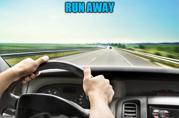 Before I found IMG | RUN AWAY | image tagged in before i found img | made w/ Imgflip meme maker