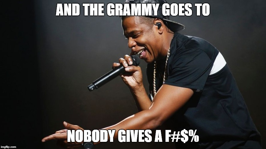 "99 PROBLEMS AND THE GRAMMY'S AIN'T ONE ""take a knee"" 