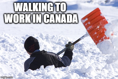 I should ask for a raise | WALKING TO WORK IN CANADA | image tagged in blizzard | made w/ Imgflip meme maker