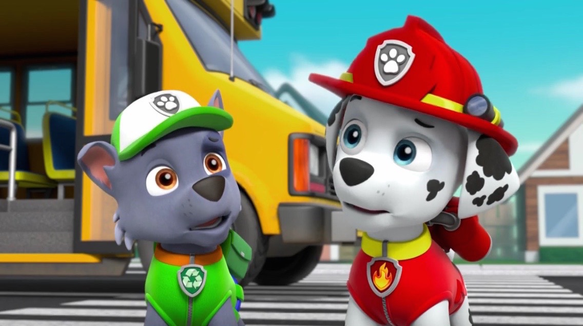 Paw Patrol Marshall And Rocky Blank Template Imgflip